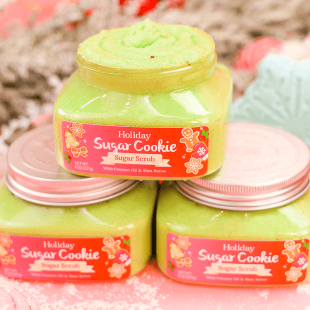 Holiday Sugar Cookie Body Scrub