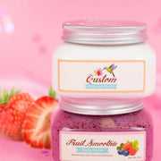 Nectar Bath Treats Berry Sweet Fruit Smoothie Body Scrub & Body Butter Combo Body Scrub Body Lotion