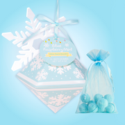 Nectar Bath Treats Blue Raspberry Mint Mini Bath Bombs Ornament bath bomb