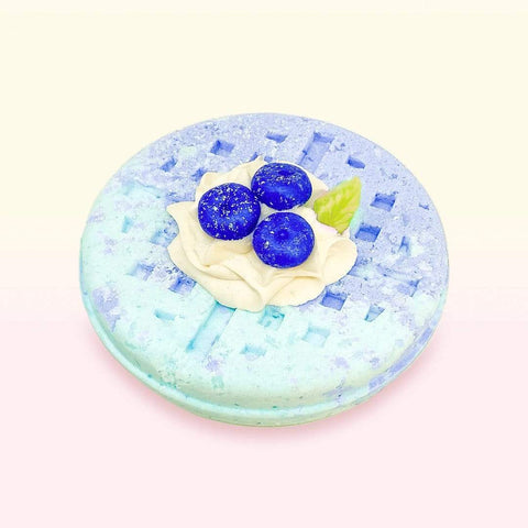 Nectar Bath Treats Blueberry Whip Waffle Bath Bomb Bath Bomb