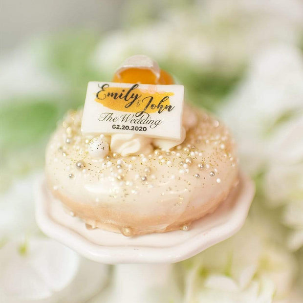 Nectar Bath Treats Custom Wedding Soaps