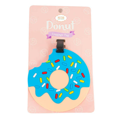 Nectar Bath Treats Donut Luggage Tag Luggage Tag