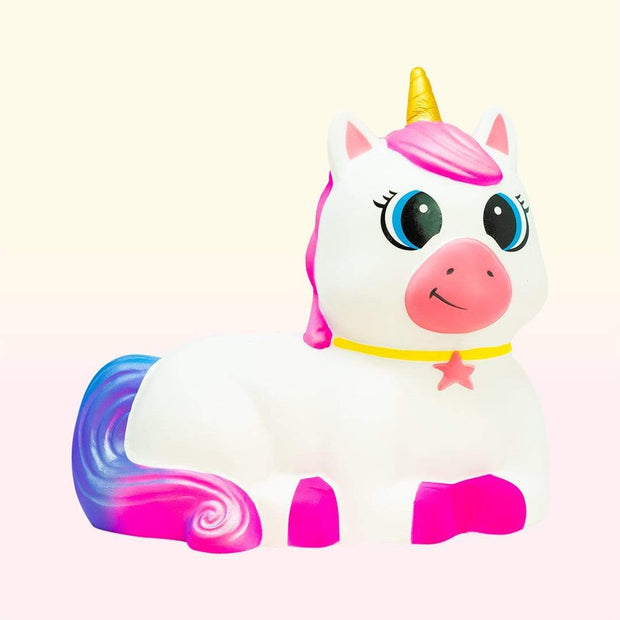 Nectar Bath Treats Extra Large Unicorn Slow Rise Stress Relief Squishy