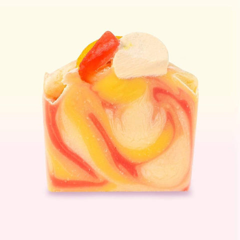 Nectar Bath Treats Fruit Punch Shea Bar Soap Handmade Bar Soap