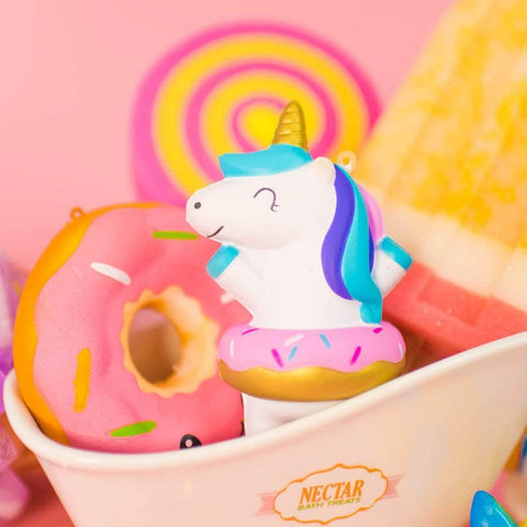 Nectar Bath Treats Hungry Unicorn Squishy