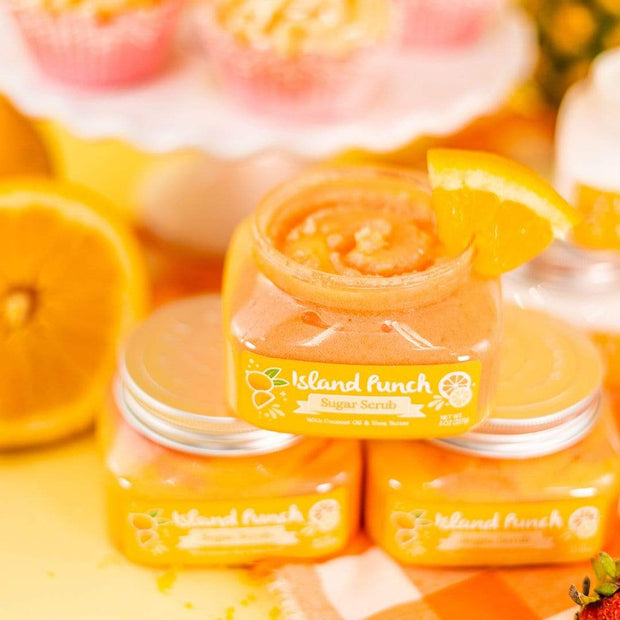 Nectar Bath Treats Island Punch Sugar Scrub scrub