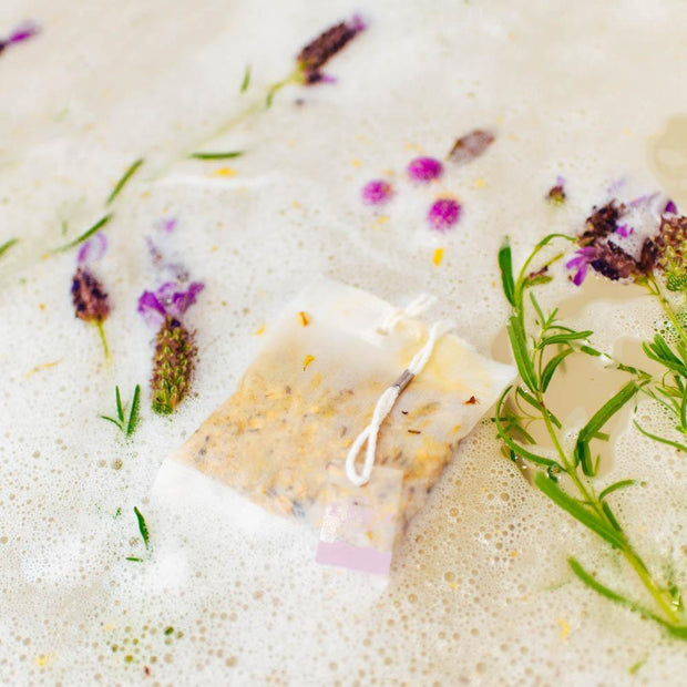 Nectar Bath Treats Lavender Oatmeal Bath Tea Bath Tea