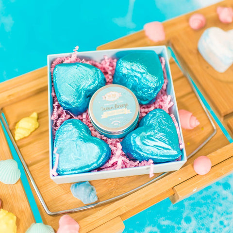 Nectar Bath Treats Lil Ocean Gift Set Bath and Body Gift Set