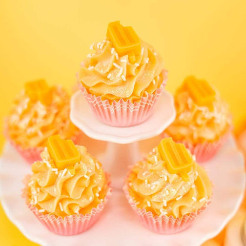 Nectar Bath Treats Orange Dreamsicle Cupcake Soap Handmade Cupcake Soap
