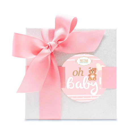 "Nectar Bath Treats ""Perfect In Pink "" Baby Shower Gift Set Bath and Body Gift Set"