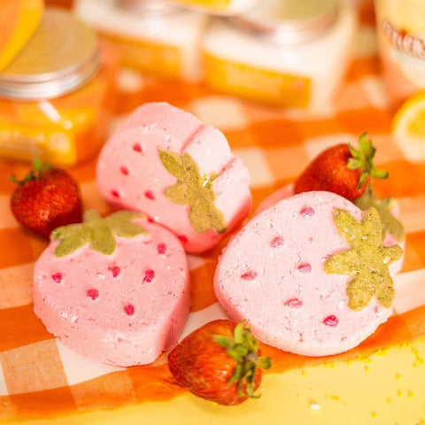 Nectar Bath Treats Strawberry Spritz Bath Bomb bath bomb
