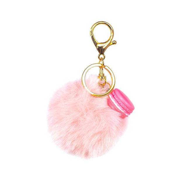 Nectar Bath Treats Sweet Pom Keychain