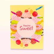 Nectar Bath Treats You're Sweet Pop Up Greeting Card