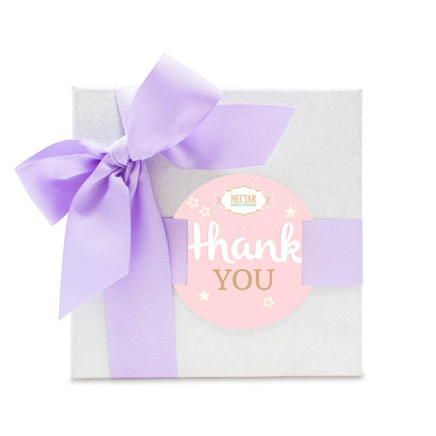 "Nectar Bath Treats ""You're Too Sweet"" Thank you Gift Set Bath and Body Gift Set"