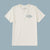 Almond Surfboards The Decades Tee - White