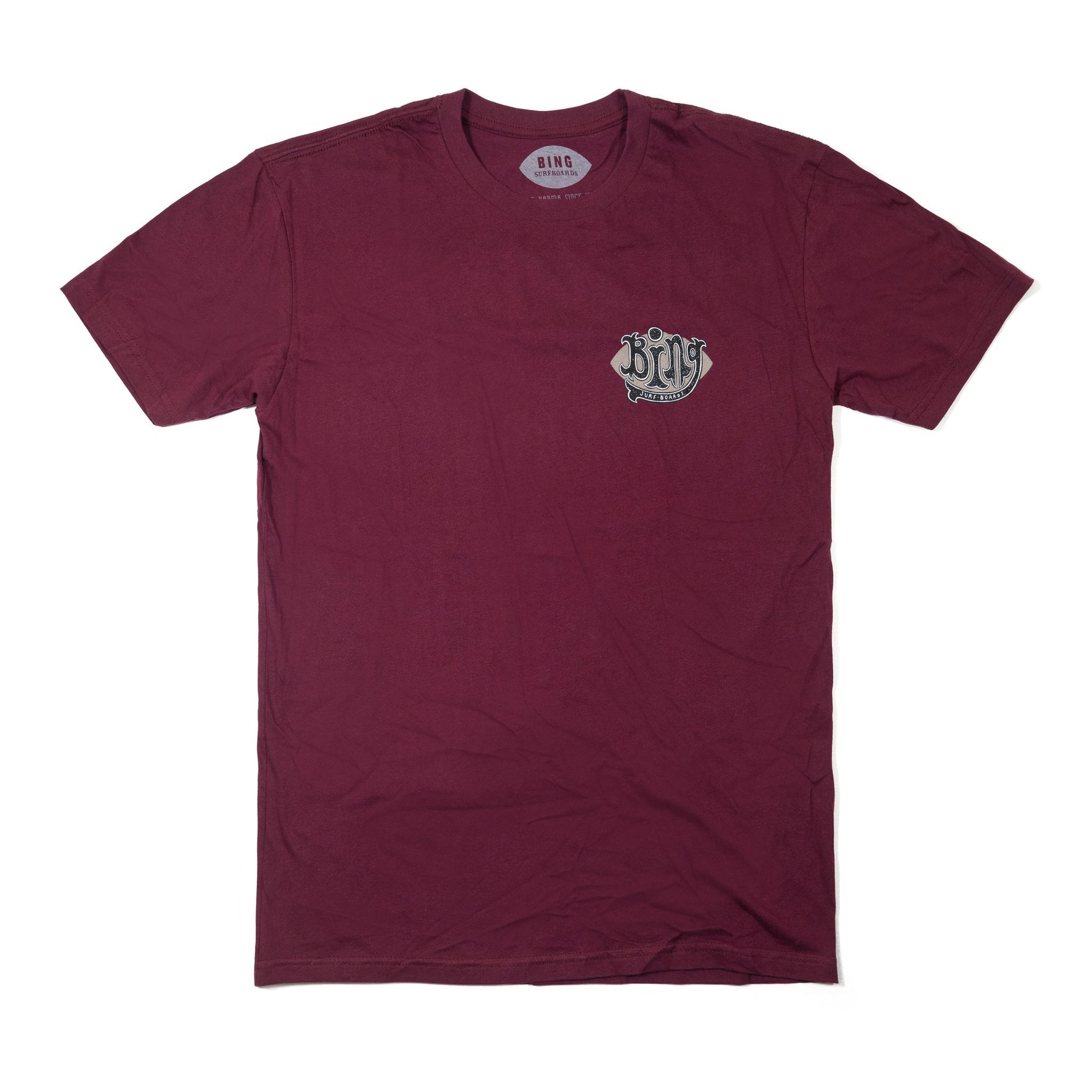 Bing Beacon Premium S/S T-Shirt Maroon