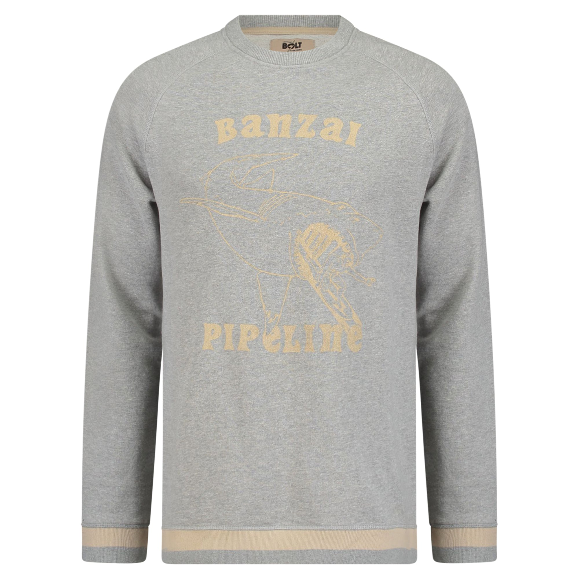 Lightning Bolt Banzai Fleece Crew