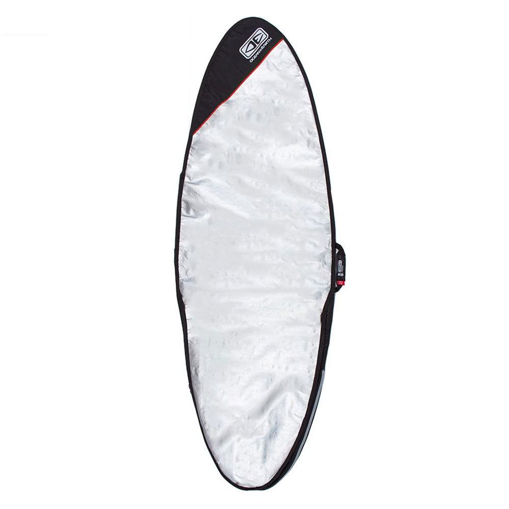 Ocean and Earth Compact Day Fish or fun Board Bag 6'4 Black