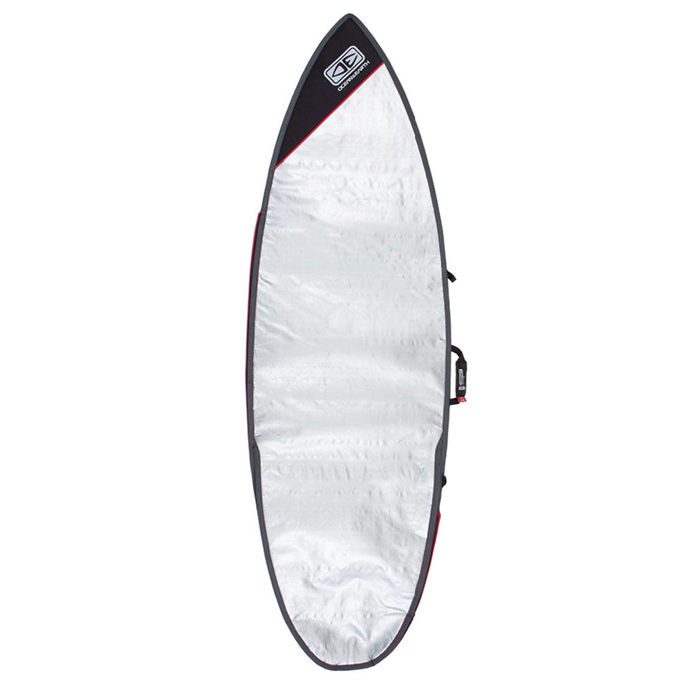 Ocean and Earth Compact Day Shortboard Bag 6'4 Black