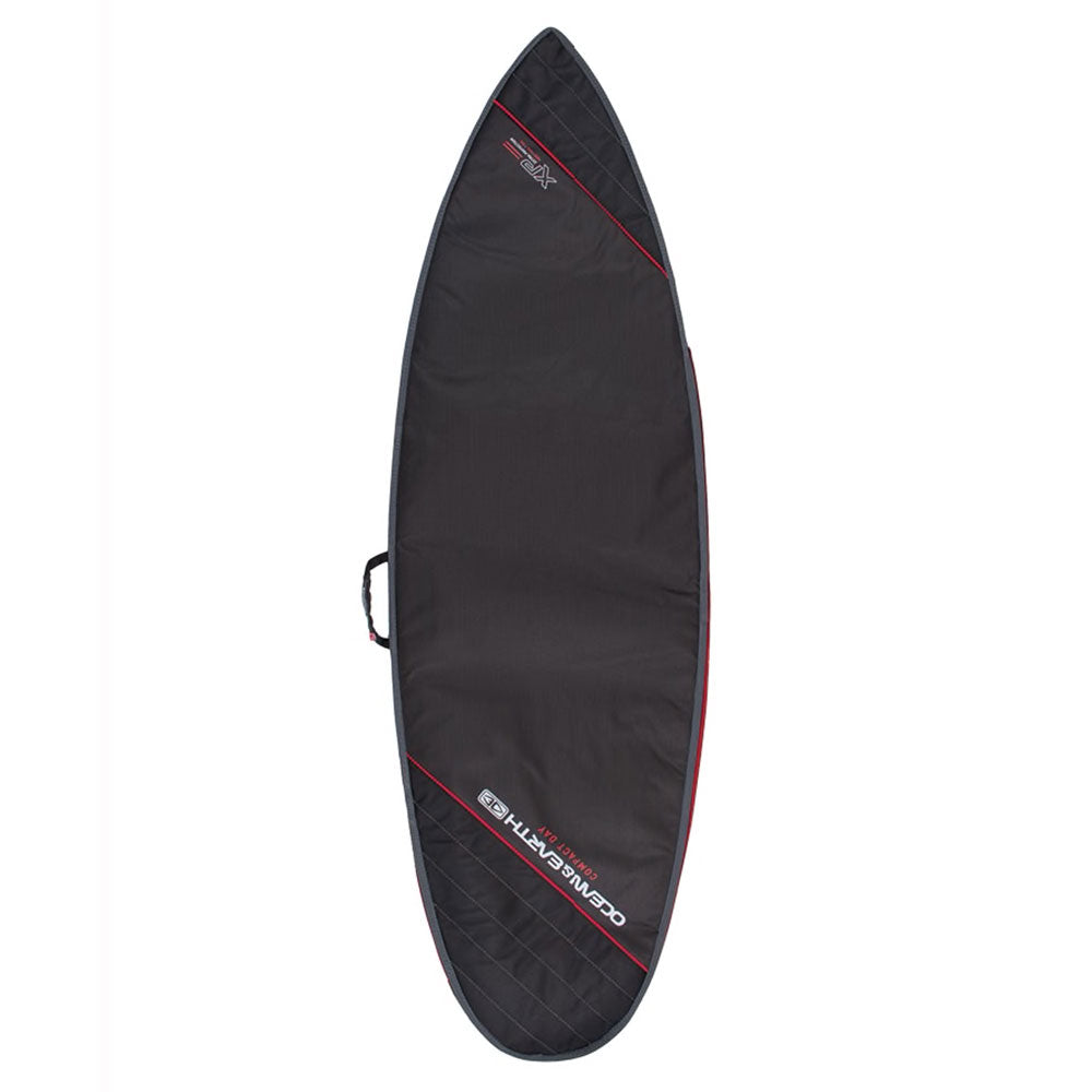Ocean and Earth Compact Day Shortboard Bag 6'0 Black