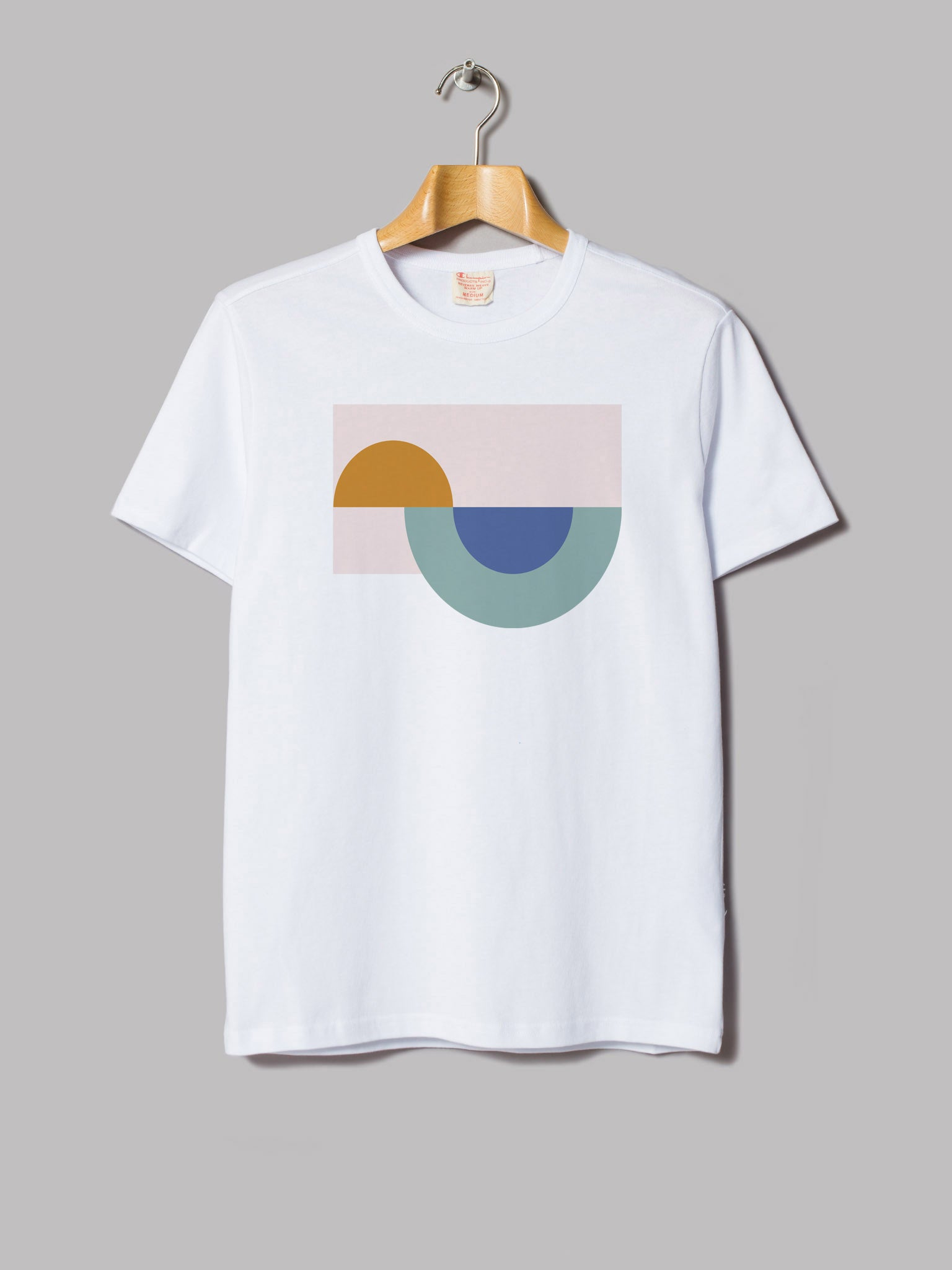 "Dharma Collective - ""Portugal Surf Sunrise"" Premium T-Shirt White"