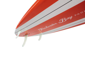 Freshwater Bay Paddleboard Co 9'11 Classic SUP - Orange & White