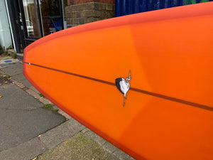 9'4 Weston Surfboards Noserider in Burnt Orange