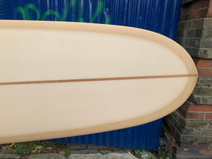 9'4 Weston Surfboards Axis in Tan Fade Resin tint