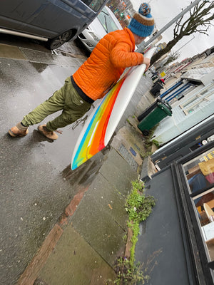 9'7 Art in Motion Designs - Balance Dream - Rainbow resin tint