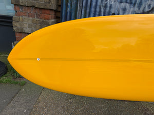 9'6 Atlantic Sunblade in Mango Yellow Resin tint.