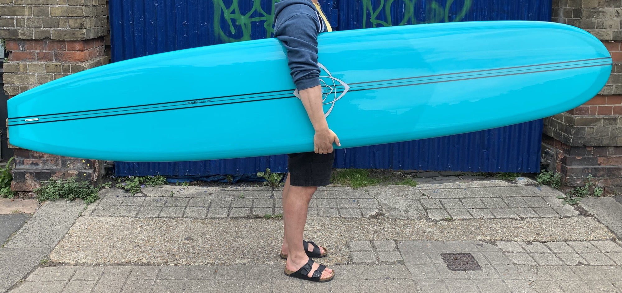 9'6 Bing Silver Spoon in Teal Resin Tint