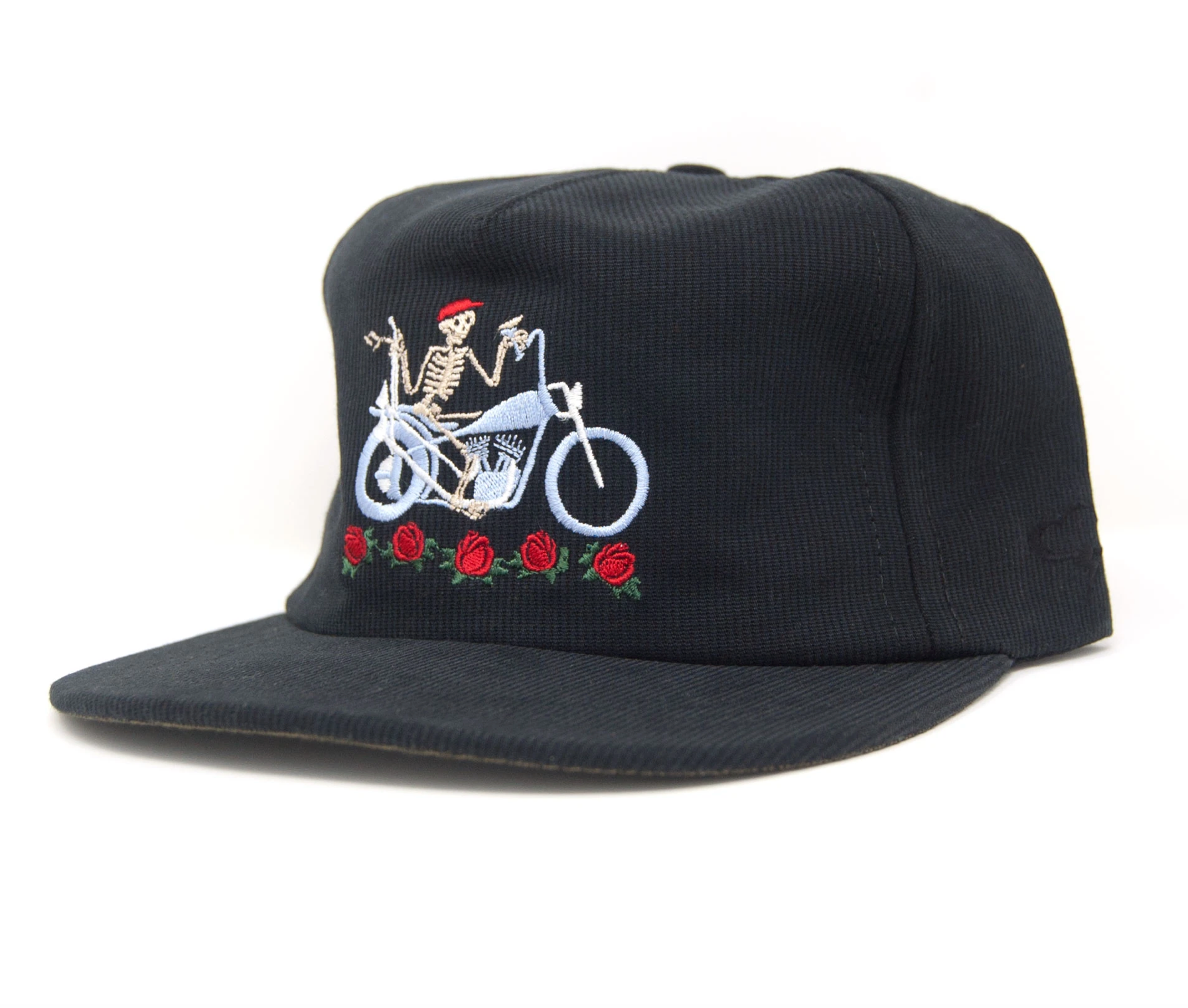 The Ampal Creative - Dead Flowers Strapback - Black