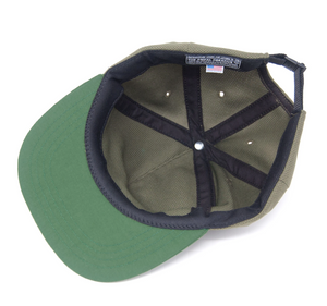 The Ampal Creative - Wild Places strapback -Olive