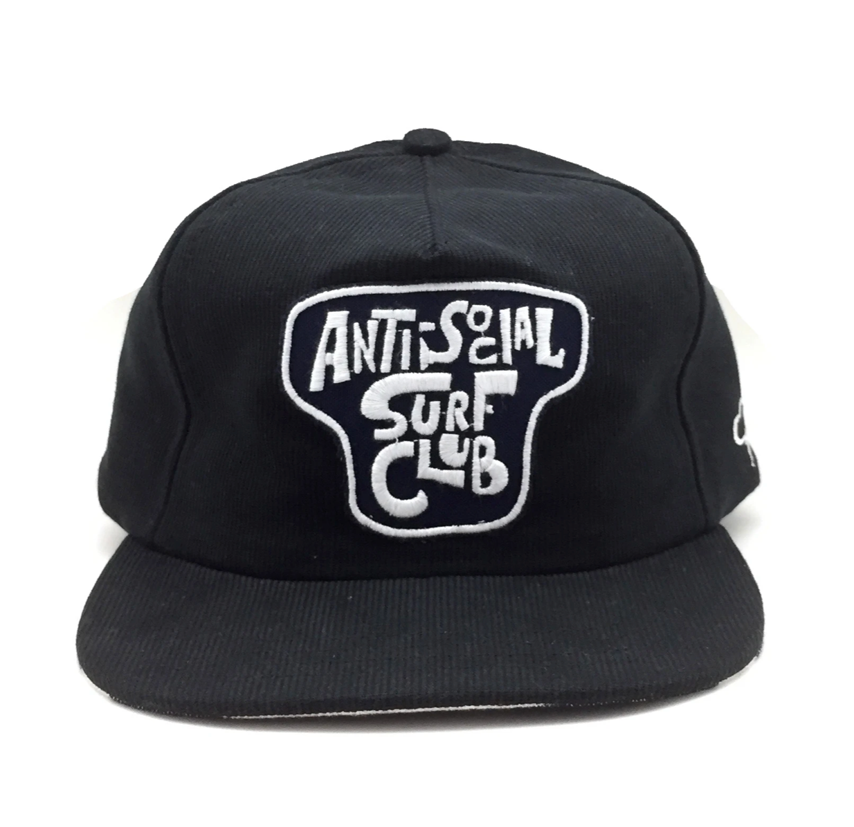 The Ampal Creative - Anti Social Surf Club II - Snapback Black