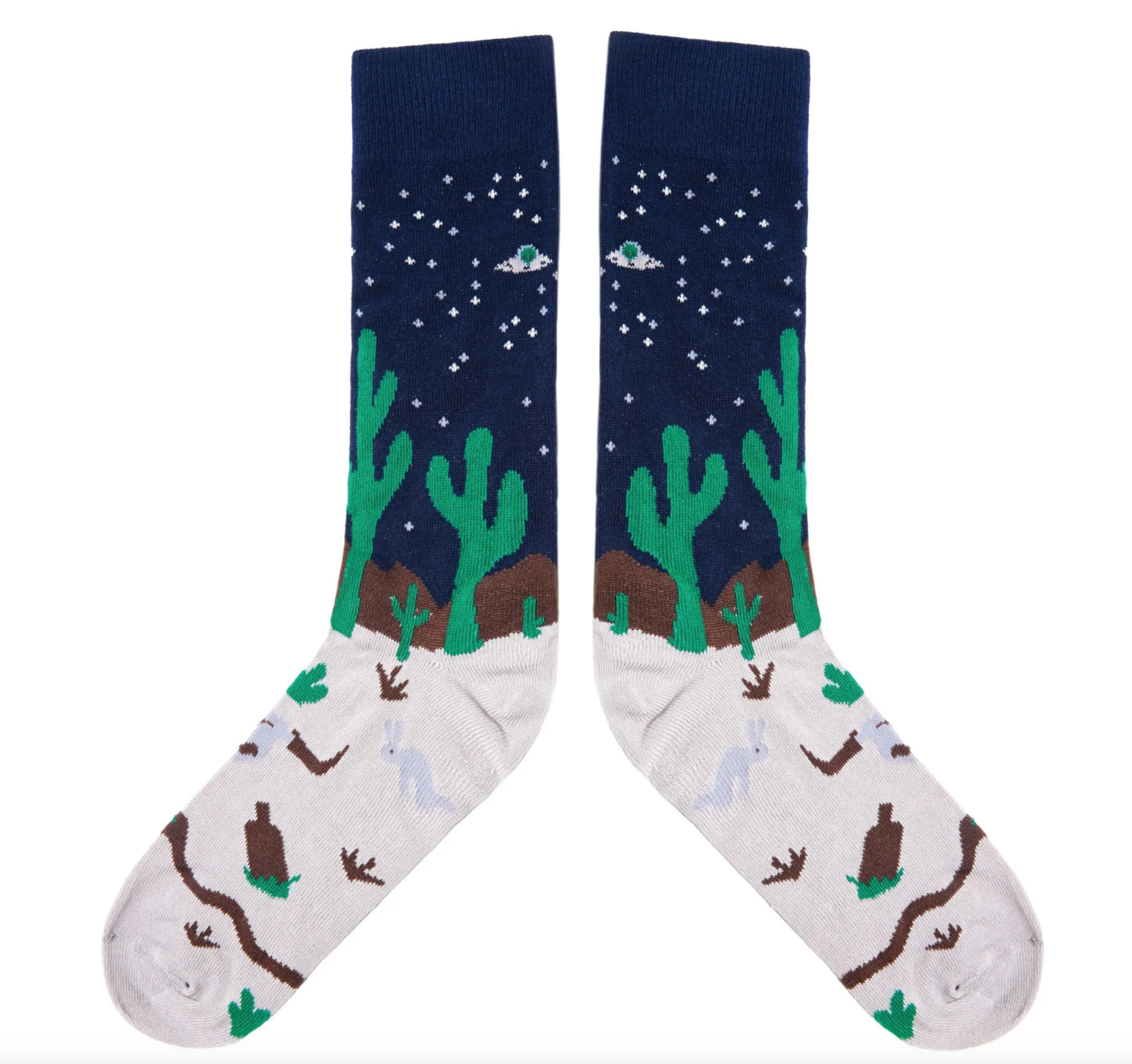 The Ampal Creative - Midnight Desert Socks - One Size