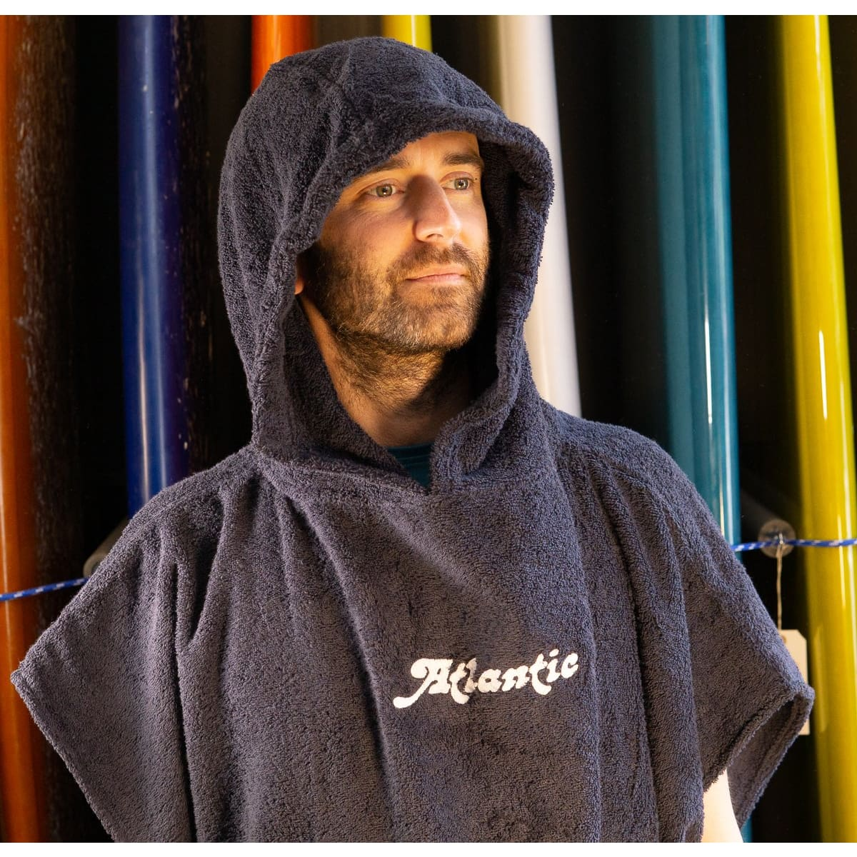 Atlantic Surfers Hooded Change Robe - clothing