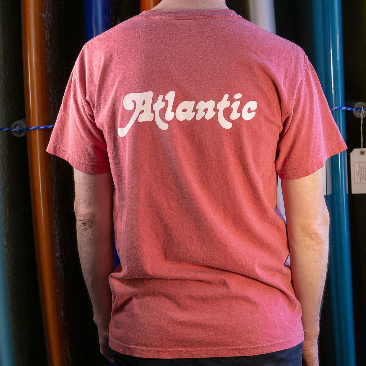 Atlantic Washed Tee - s / crimson - apparel