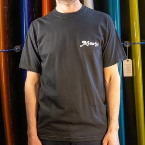 Atlantic Washed Tee - s / black - apparel