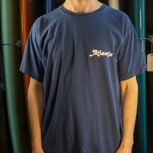 Atlantic Washed Tee - s / blue jean - apparel