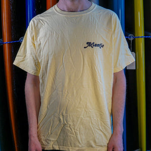 Atlantic Washed Tee - s / butter - apparel