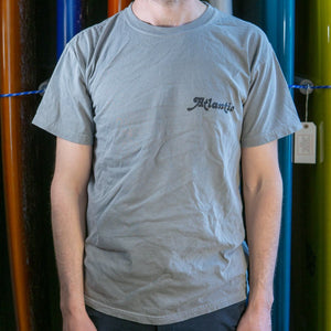 Atlantic Washed Tee - s / grey - apparel