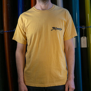 Atlantic Washed Tee - s / mustard - apparel