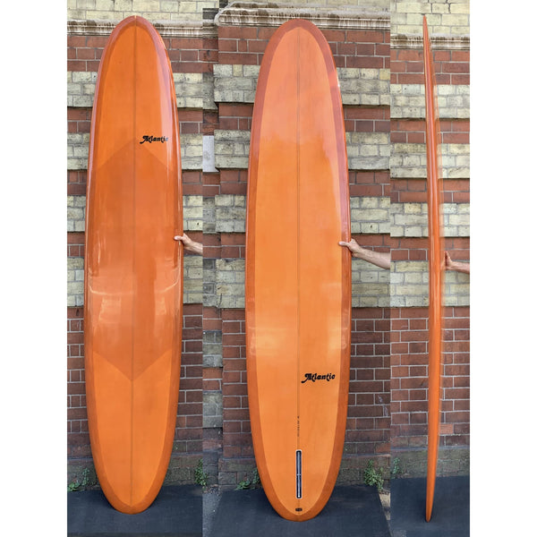 Atlantic Witts Sunblade 91 x221/4 x 31/4 Cognac Resin tint deck patch - surfboard