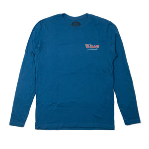 Bing Goofy Premium L/S T-Shirt Cool Blue