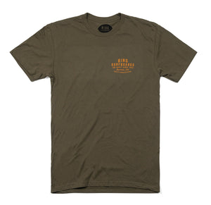 Bing Quality Manufacturing Premium S/S T-Shirt Military Green