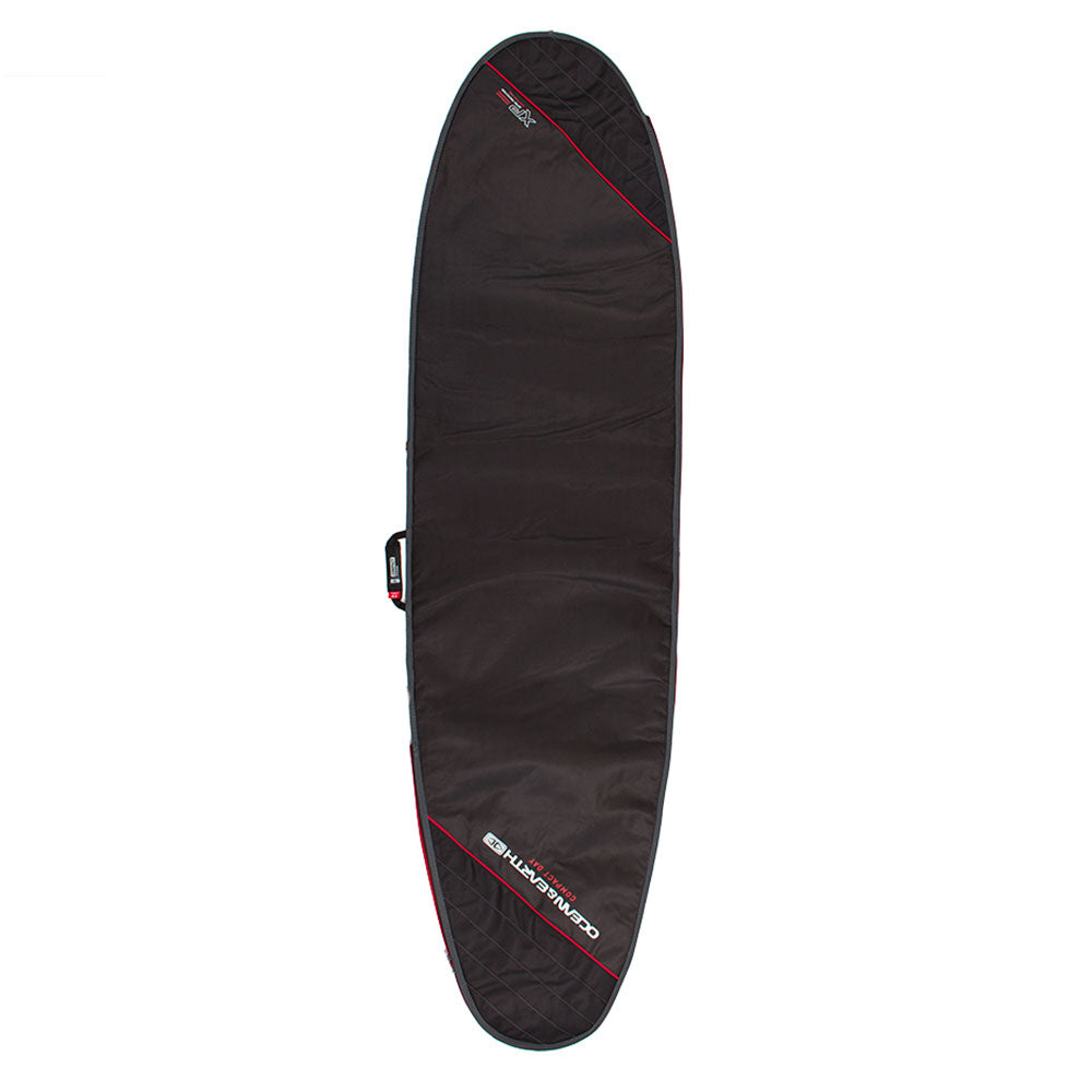 Ocean and Earth Compact Day Mid/Longboard Bag 8'0 Black