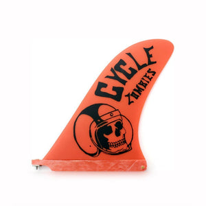 Cycle Zombies Crash Helmet 10 Orange - fins