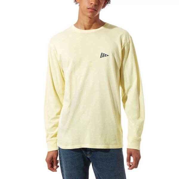 VANS x Pilgrim Surf + Supply Long Sleeve Shirt Double Cream