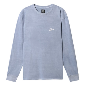 VANS x Pilgrim Surf + Supply Long Sleeve Shirt Blue Fog
