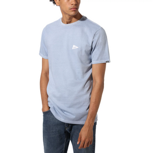 VANS x Pilgrim Surf + Supply Pennant T-Shirt Blue Fog